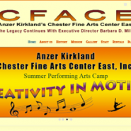 The new CFACE website