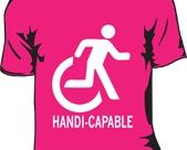 Handicapable T-shirt