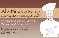 Al's Fine Catering