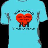 Kirkland Family Reunion T-shirts