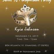 Sweet 16 Masquerade Party