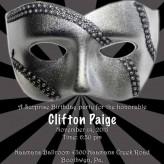 Surprise Masquerade Party Invitation