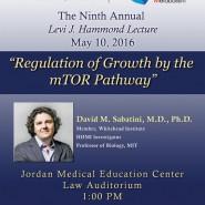 2016 Levi J. Hammond Lecture