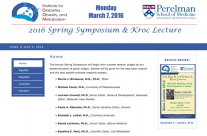 2016 Spring Symposium and Kroc Lecture