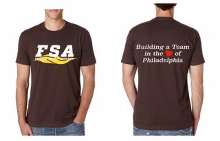 FSA Brown T-shirts