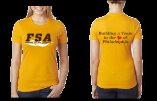 FSA Gold Ladies T-shirt