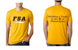 FSA Gold T-shirts
