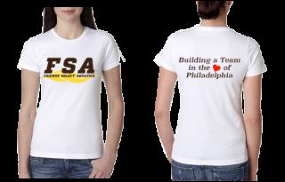 FSA White Ladies T-shirt