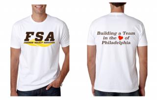 FSA White T-shirts