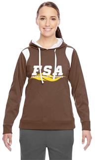 SA Brown Ladies hoodie
