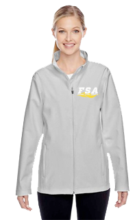 FSA Softshell Grey Ladies Jacket