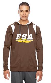 FSA Brown Men's Athletic hoodie