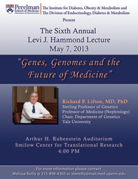 6th Annual Levi J. Hammond Lecture